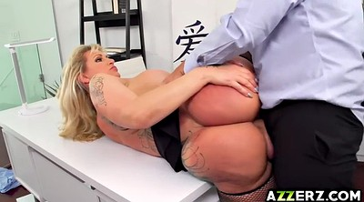 Office anal, Big tit anal