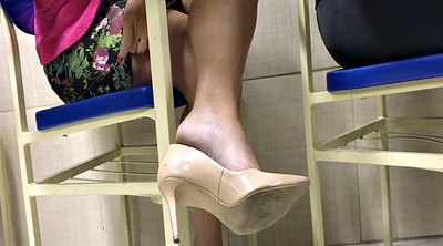 Candid, High heels, Candid foot, Shoeplay, Feet candid, Candid feet