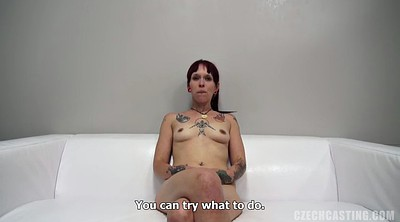 Amateur facial, Punk, Hard casting, First fuck