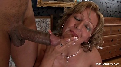 Granny anal, Mature interracial