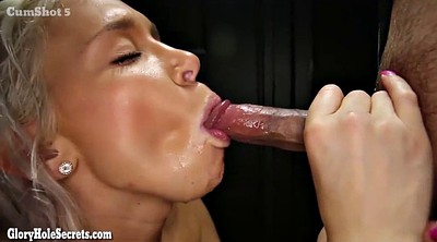 Swallowing cum, Hot blond, Cum swallow