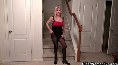 Nylons, Milf nylon, Mature fetish