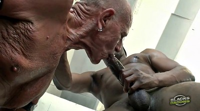 Interracial, Old gay, Young gay