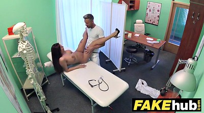 Tall, Hospital, Fake hospital, Big natural tits, Voyeur doctor, Nature