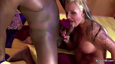 Interracial anal, German anal