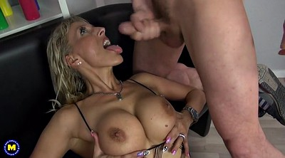Mom son, Son mom, Big tit milf