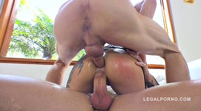 Massive cock, Group anal