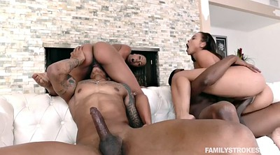 Family, Teenie, Orgy big black cock, Family foursome, Blacks
