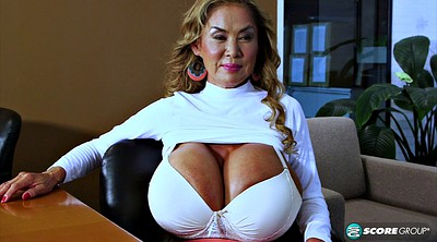 Office, Asian big tits, Asian huge tits