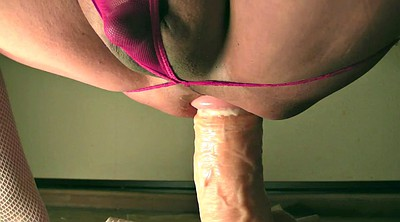 Bbw, Monster dildo, Dildo ride