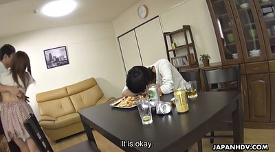 Drunk, Cheating, Japanese wife, Cheat, Hitomi, Hairy wife