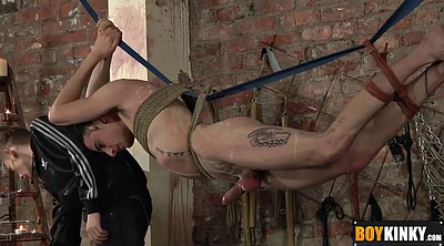 Tied up, Gay bdsm, Torture, Cock torture