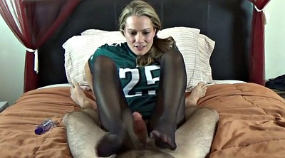 Nylon footjob, Nylon foot, Feet nylon