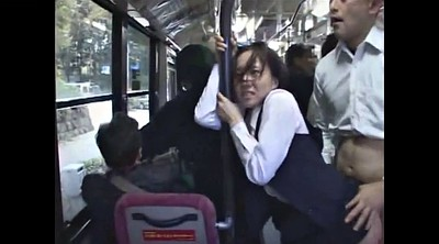 Bus, Japanese bus, Japanese outdoor, Japanese voyeur, Danger, Bus asian