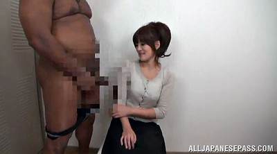 Riding, Asian handjob, Huge asian
