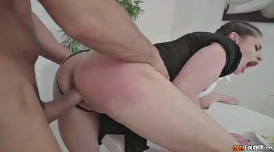 Uniform, Cathy, Riding anal