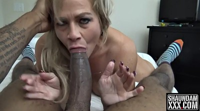 Interracial, Deep throat, Granny, Blowjobs
