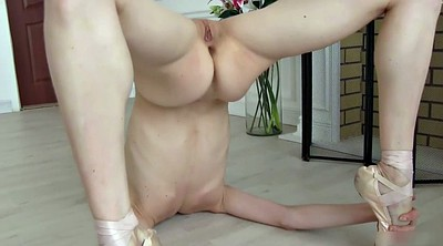 Flexible, Nude, Flat, Flats, Body, Ballerina