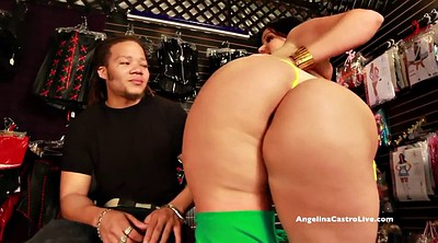 Big dick, Store, Angelina castro