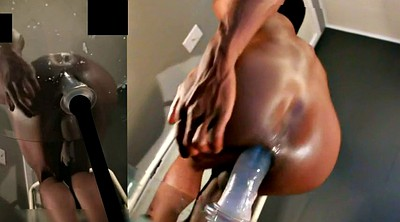 Pussy gaping, Anal black