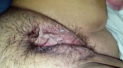 Big clit, Clit, Red, Hairy pussy, Hairy bbw