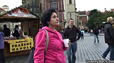 Mature and young, Young and old, Tourist