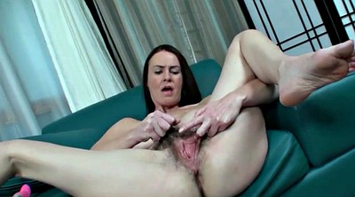 Pussy, Veronica, Mature spreading, Mature hairy