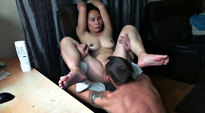 Wife orgasm, Asian wife