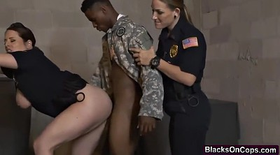 Handsome, Jail, Soldier, Blonde fake tits, Soldiers, Cops