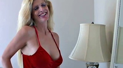 Lovely, Blonde cougar, Big tits granny
