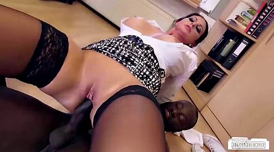 Secretary, Big black tits