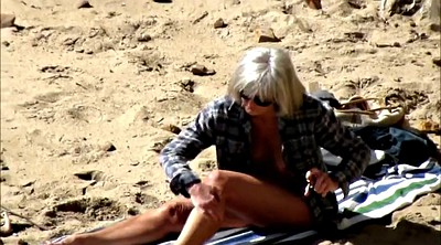 Saggy, Spy, Voyeur mature, Saggy tits, Mature beach