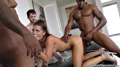 Throat, Deep throat, Anal creampie, Interracial anal