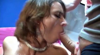 Bukkake, Multiple cum, Multiple creampies