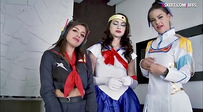 Cosplay, Foursome, G queen, Teen foursome