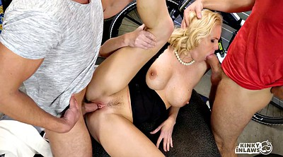 Milf anal, Two, Threesome anal