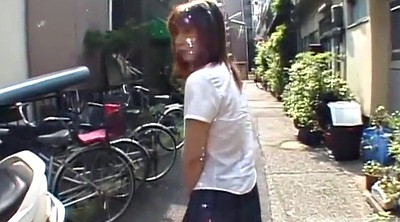 Japanese outdoor, Subtitle, Pantie, Japanese panty