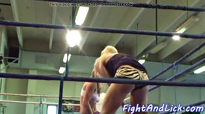 Wrestling, Fight, Rimming, Beautiful ass, Lesbian rimming, Cat