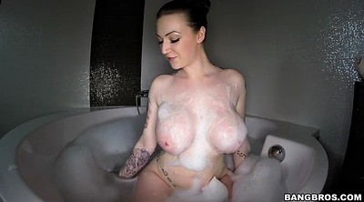 Harmony, Harmony reigns, Shower solo, Shaking, Giant tits