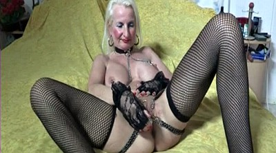 Grannies, Mature pussy, Chained