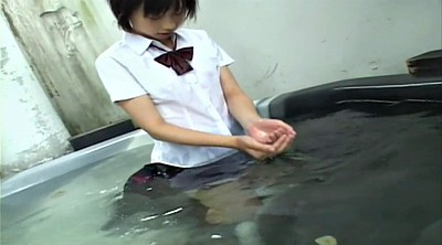 Chinese teen, Japanese shower