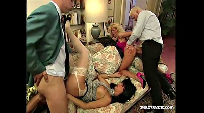 Double anal, Anal french, French vintage, Anal orgy