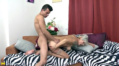 Mom son, Son mom, Young son, Matures, Old&young, Mom seduced son