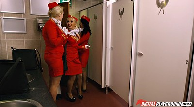 Toilet, Stewardess
