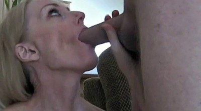 Cum on face, Sexy mom