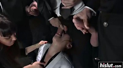 Asian gangbang, Gangbang asian