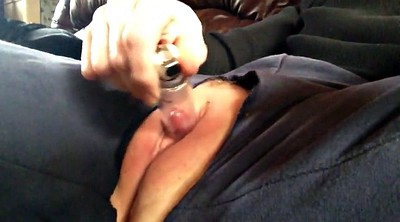 Pump, Clit, Puffy, Mature masturbation, Clit pump, Puffy pussy