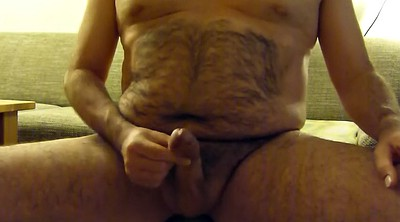Hairy gay, Hairy solo, Chubby solo, Cumshots