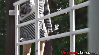 Japanese outdoor, Upskirts, Japanese voyeur, Japanese spy