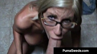 Glasses, Blow job, Blow jobs, Blow